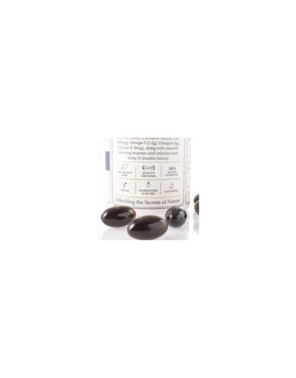 Capsules Hemp Oil Total:300mg CBD