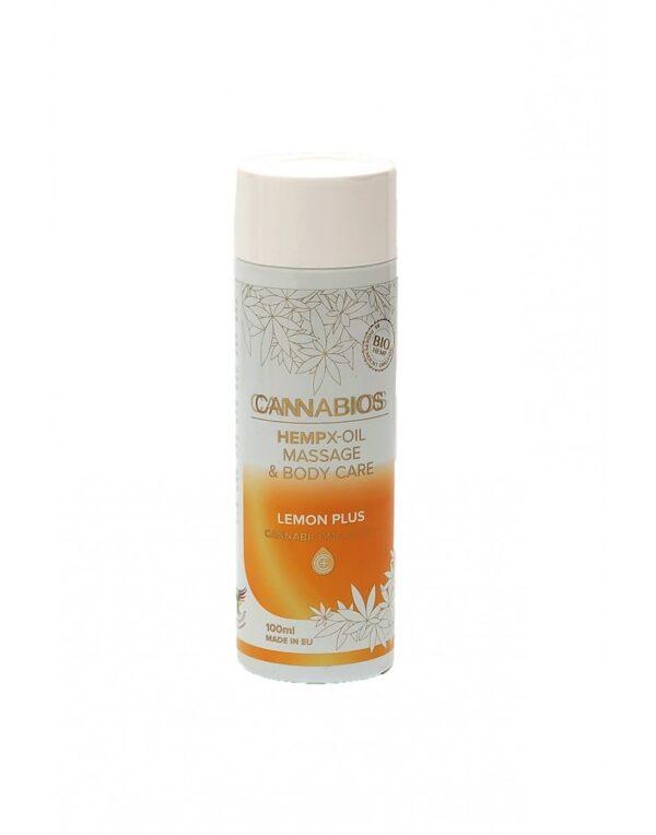 CBD Massage Oil Lemon