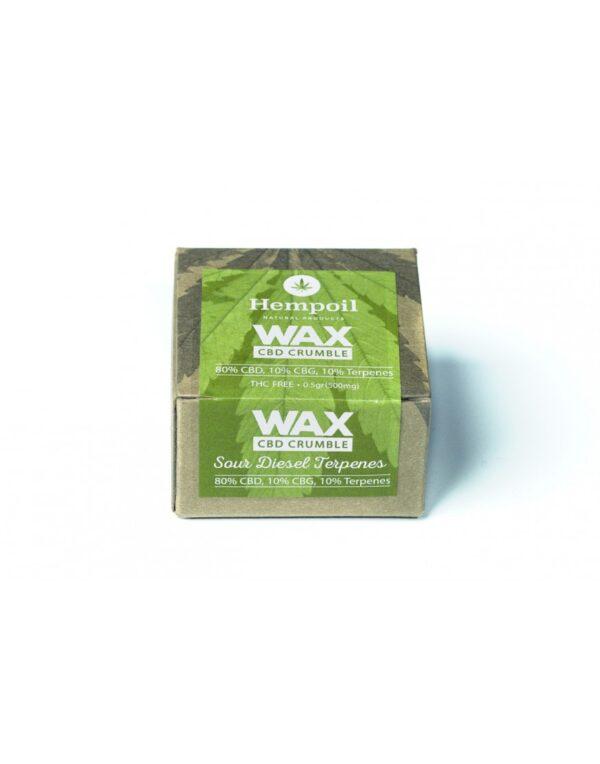 Wax Cbd Crumble - Sour Diesel Terpenes