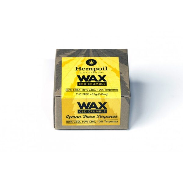 Wax Cbd Crumble - Lemon Haze Terpenes