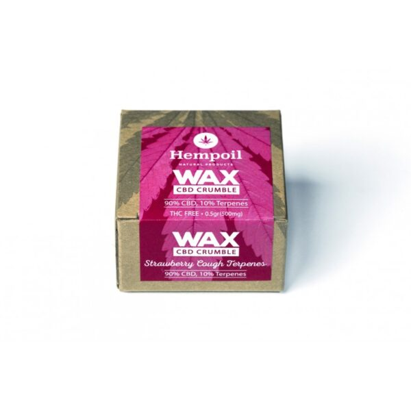 Wax Cbd Crumble - Strawberry Cough Terpenes