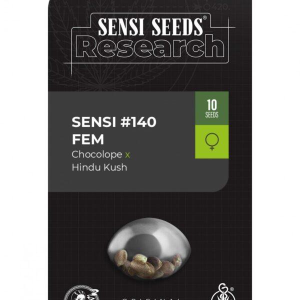 Sensi 140 Feminized Seeds [Chocolope x Hindu Kush]