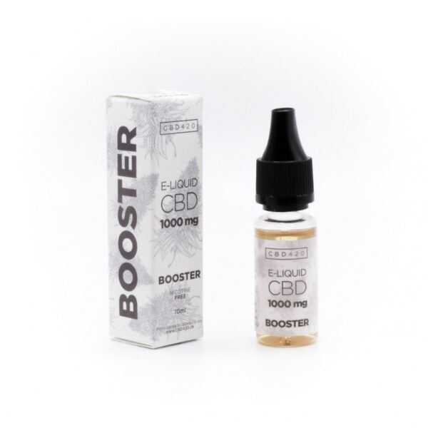 E liquid CBD - Booster 1000mg