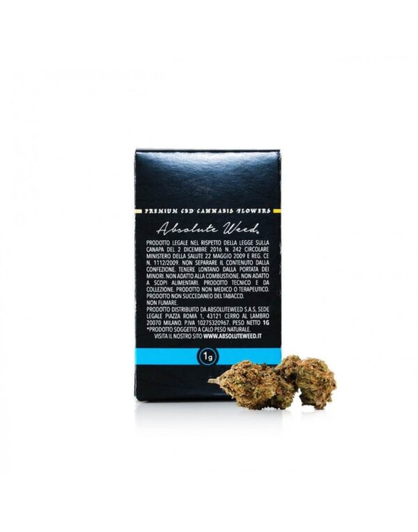 Blue Skywalker CBD Flowers - Absolut Weed 1gr