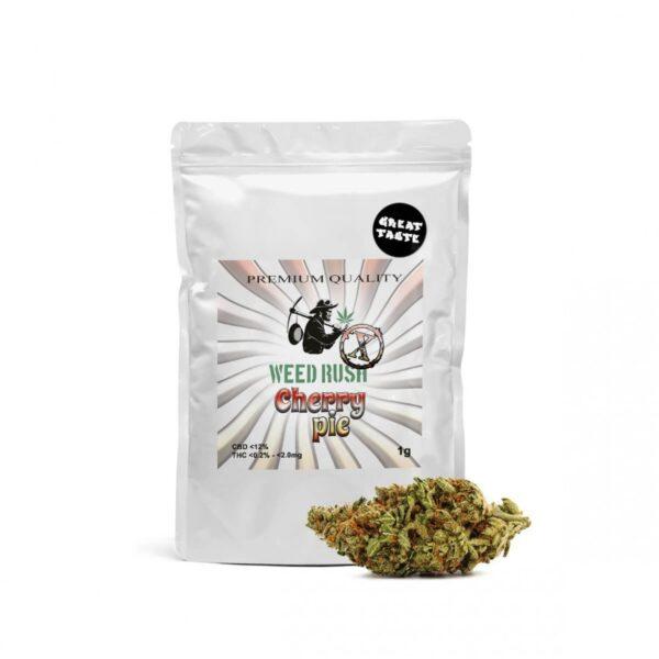 Weed Rush - Cherry pie CBD Flowers 1gr
