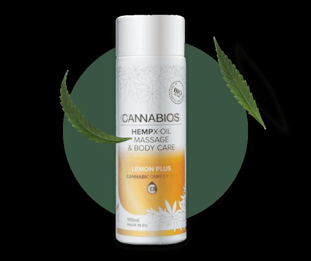 CBD Massage oil product