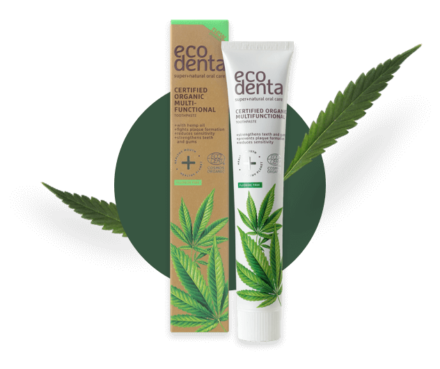 Hemp toothpaste-ecodenta