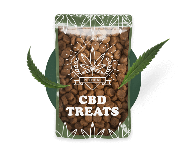 CBD Dog treats packaging