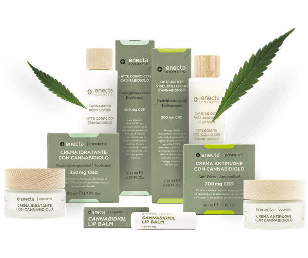 Cannabidiol based cosmetic product line from enecta