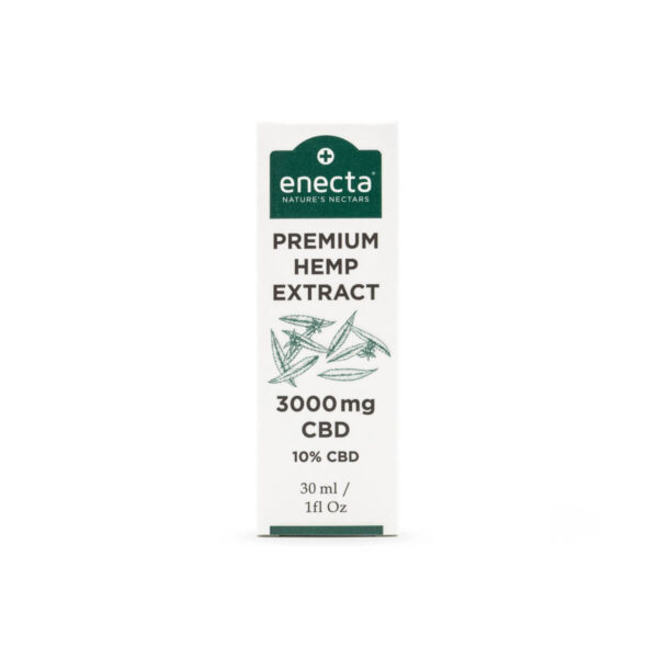 Hempoil from enecta brand bottle 30ml - 3000mg