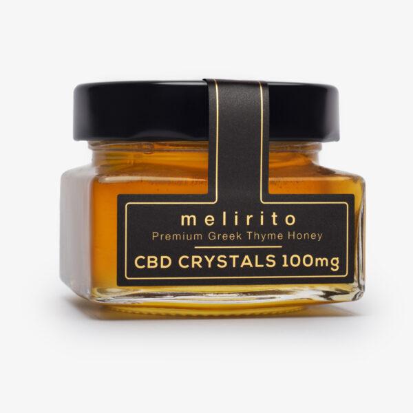CBD Μέλι Melirito 100mg και βάρος 150 γραμμάρια.