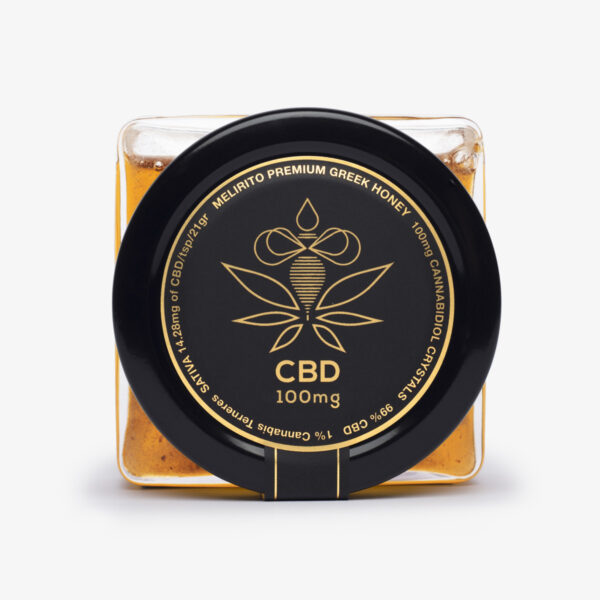 CBD Honey | Melirito 100mg - 150gr top view