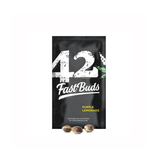 Fast Buds - Αυτόματοι Σπόροι Κάνναβης - Purple Lemonade Auto - 3τεμ - προιόν
