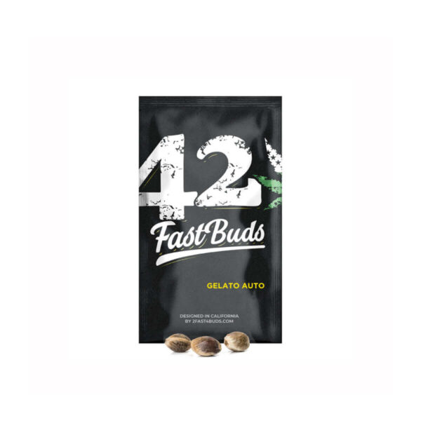 Fast Buds - Autoflowering Cannabis Seeds - Gelato Auto - 3pcs - product - 1