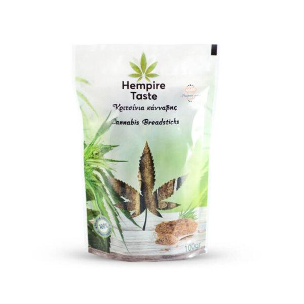 Hempire Taste - Κριτσίνια με Κάνναβη - 100γρ - φωτογραφία