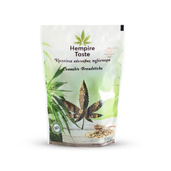 Hempire Taste - Cannabis Multiseeded Breadsticks - 100gr - photo