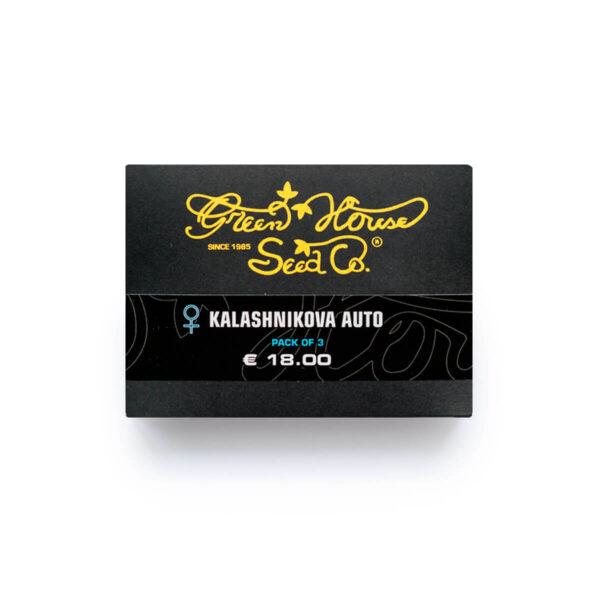 Green House Seeds | Autoflowering Cannabis Seeds - Kalashnikova Auto - 3pcs - packaging photo