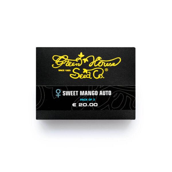 Green House Seeds | Autoflowering Cannabis Seeds – Sweet Mango Auto – 3pcs - product photo