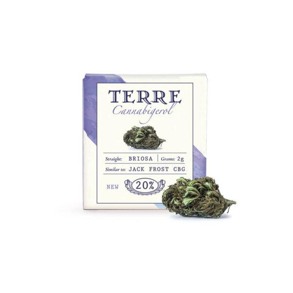 Terre Di Cannabis Briosa CBG - 2γρ. - φωτογραφία συσκευασίας