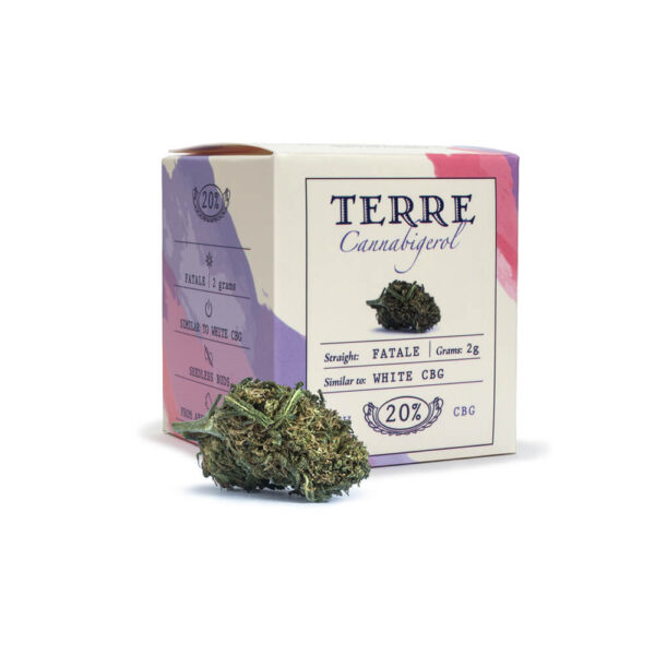 Terre Di Cannabis Fatale CBG - 2γρ. - φωτογραφία συσκευασίας προϊόντος