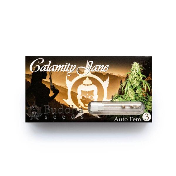 Buddha Seeds | Αυτόματοι Σπόροι Κάνναβης - Calamity Jane Auto - 3τεμ - συσκευασία τριών τεμαχίων
