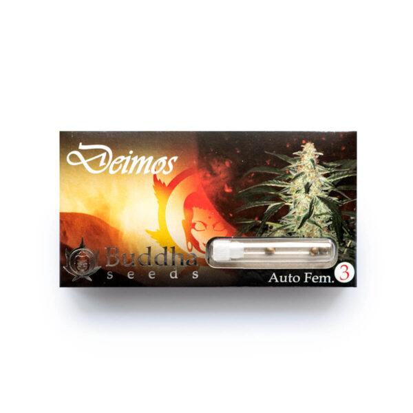 Buddha Seeds | Autoflowering Cannabis Seeds - Deimos Auto - 3pcs - packaging photo
