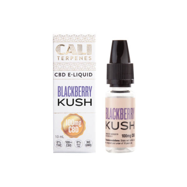 E-Liquid CBD (100mg) | Blackberry Kush - 10ml - product packaging