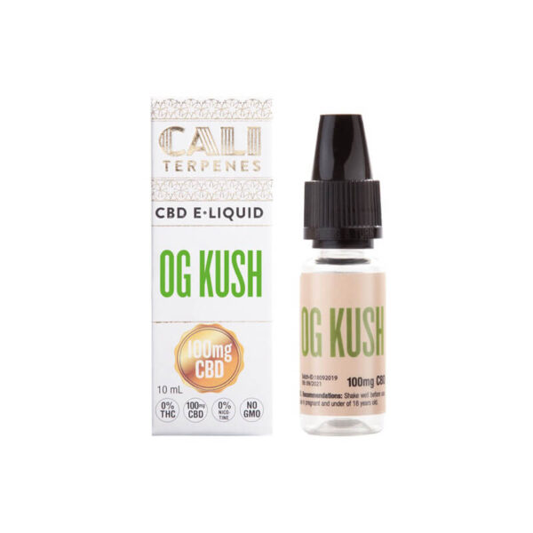E-Liquid CBD (100mg) | OG Kush - 10ml - product packaging