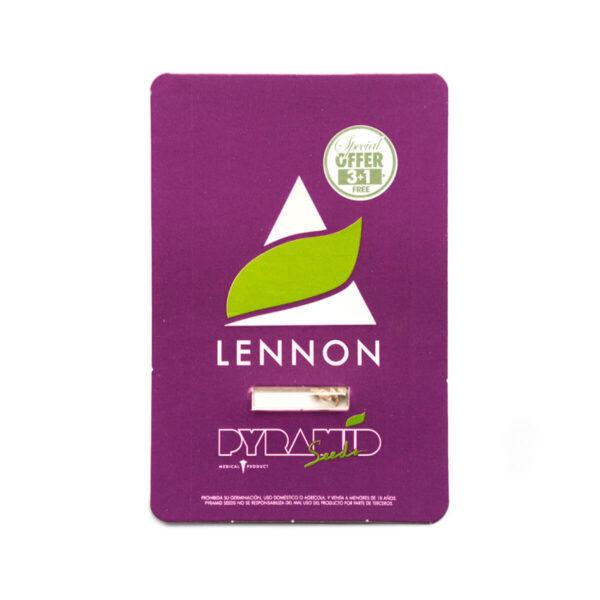 Pyramid Seeds | Θηλυκοί Σπόροι Κάνναβης - Lennon - 3+1τεμ - συσκευασία προϊόντος